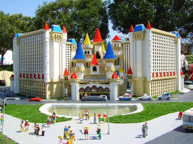 Legoland California, Miniland USA, Miniland Las Vegas, Las Vegas, Excalibur