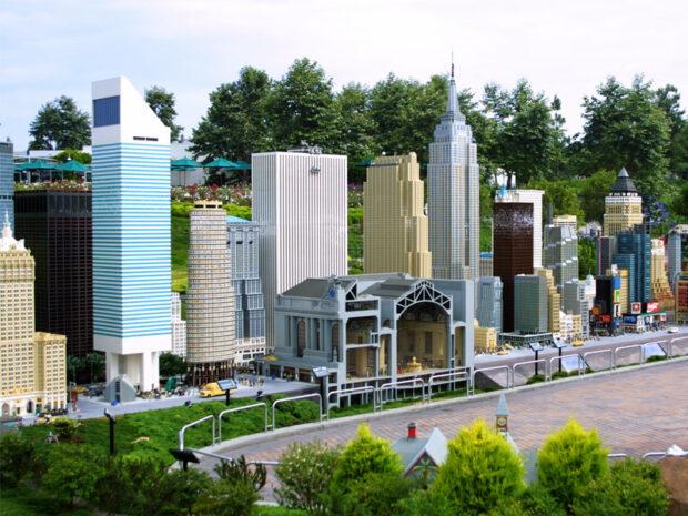 Legoland California, Miniland USA, Miniland New York, New York, Empire State Building