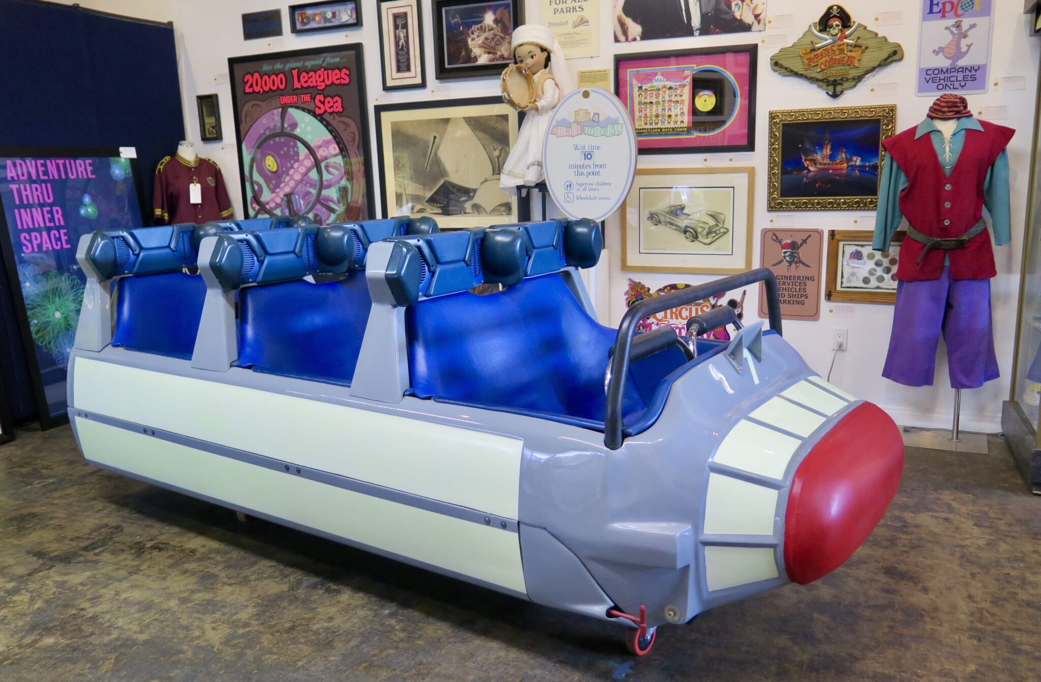 disneyland auction, 65th anniversary, space mountain