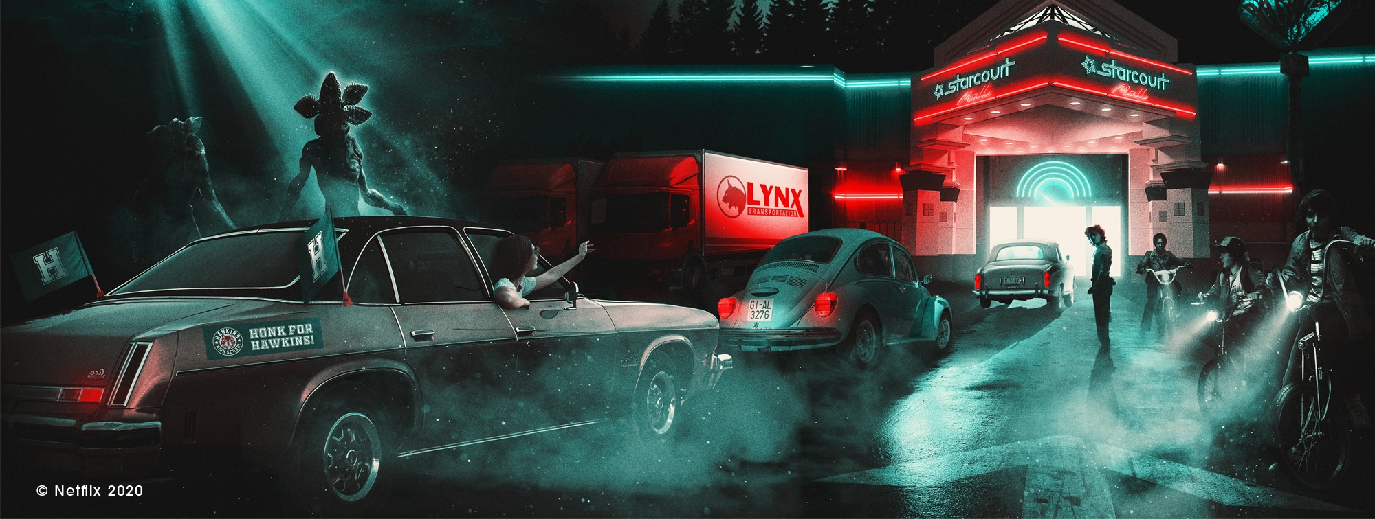 Stranger Things, Drive-into Experience, Starcourt Mall