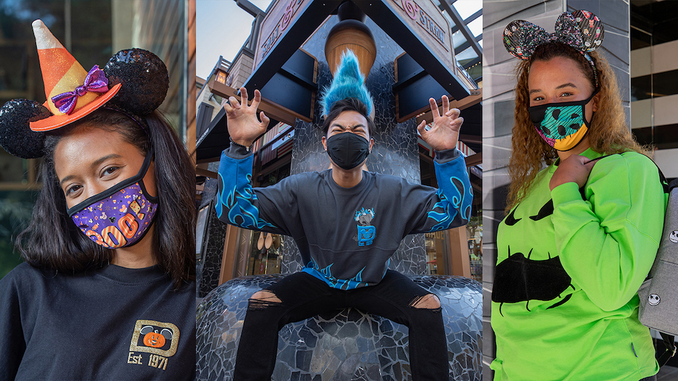 Halloween 2020 Face Reveal Disney Parks reveals new Halloween merchandise for 2020