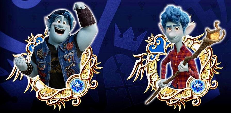 Kingdom Hearts, Kingdom Union χ[Cross], Kingdom Hearts Dark Road, Disney, Pixar, Onward, Ian Lightfoot, Barley Lightfoot,