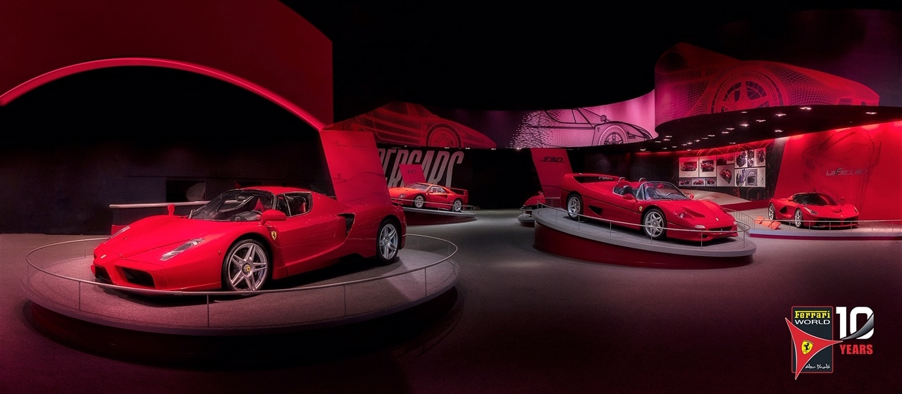 Ferrari World, Hypercars, Ferrari, Abu Dhabi