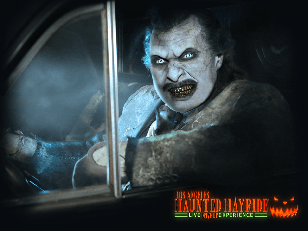 Los Angeles Haunted Hayride, Los Angeles Haunted Hayride: Live Drive-Up Experience, Halloween