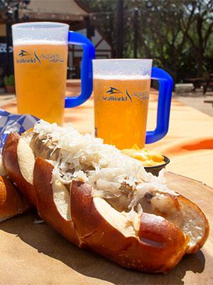 SeaWorld San Antonio, SeaWorld, Bier Fest, brat