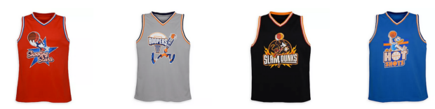 Disney Parks, Celebrate the NBA Collection, NBA Experience, shopDisney, NBA, basketball jersey, Mickey Mouse Slam Dunks, Minnie Mouse Shooting Stars, Donald Duck Hot Shots, Goofy Hoopers