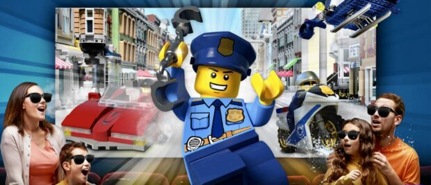 Legoland Florida Resort, Heroes Weekend, The Lego City 4D, Officer in Pursuit