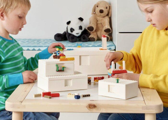 Ikea, Lego, Bygglek