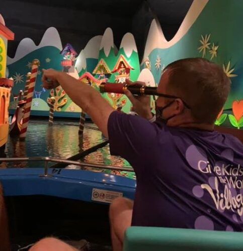 Steven amos on it's a small world