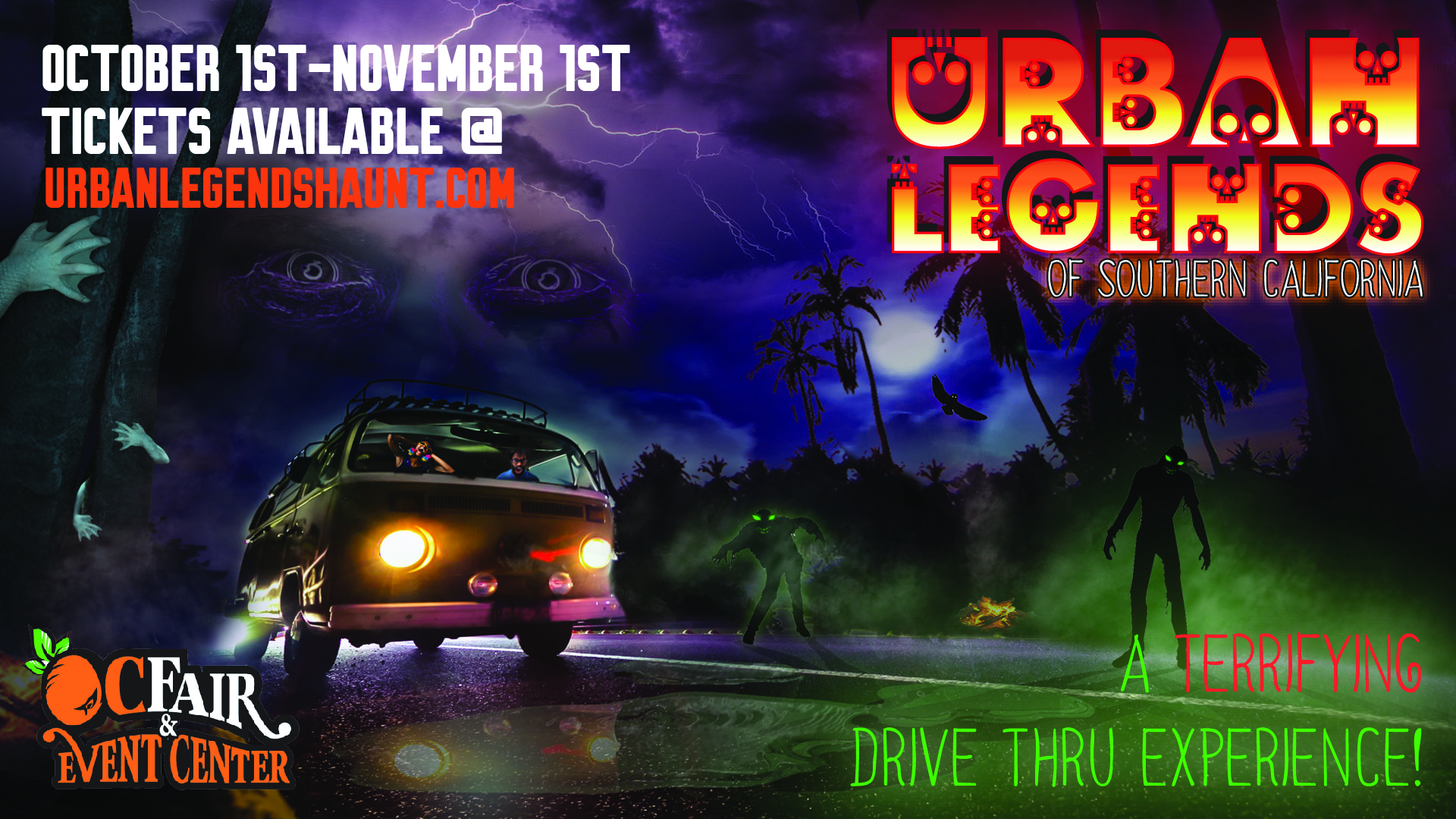 Halloween Festivals In Southern California 2020 Drive through the 'Urban Legends of Southern California' Halloween