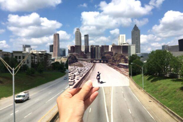 Jackson Street Bridge, The Walking Dead, Walking Dead Location Tour