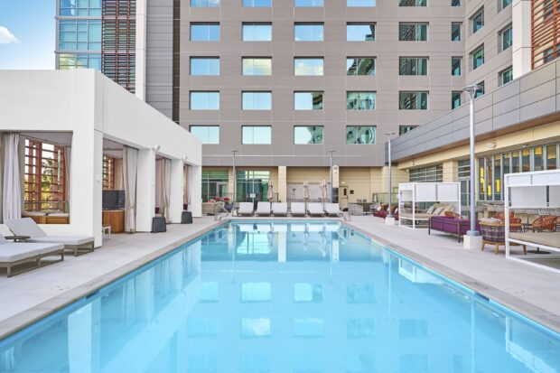 JW Marriott Anaheim Resort, JW Marriott, Anaheim, Disneyland, pool