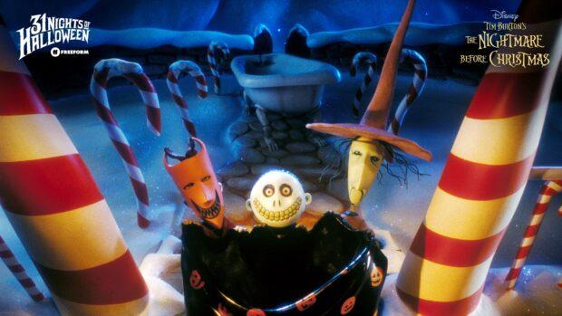 Freeform, Halloween Road, Tim Burton's The Night Mare Before Christmas, 31 Nights of Halloween