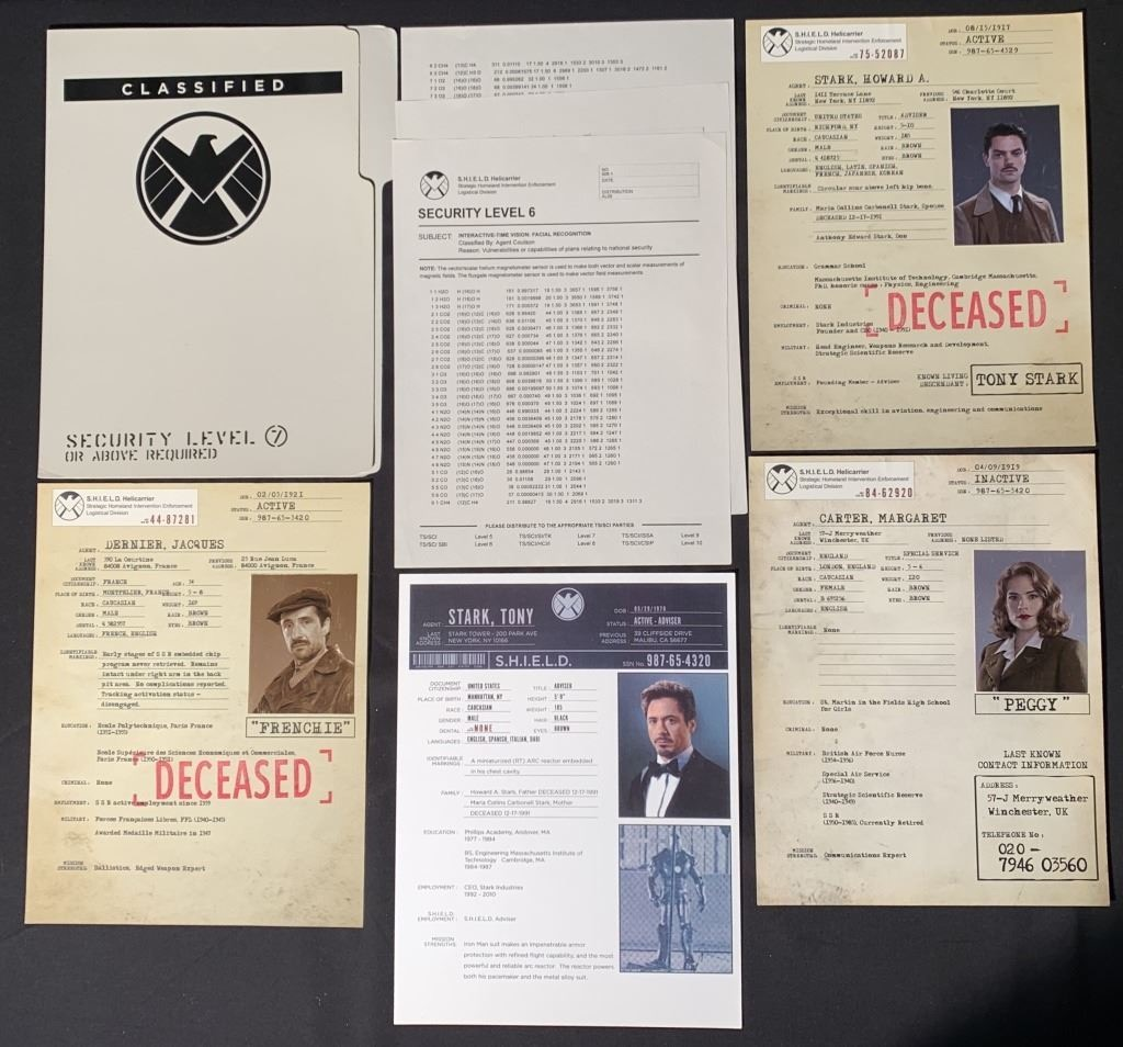 Hollywood auction, Avengers, Tony Stark, Howard Stark, SHIELD, Agent Carter