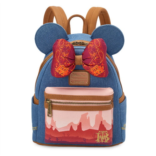 Minnie Mouse: The Main Attraction Series, Big Thunder Mountain Railroad, plush, mug, pins, Minnie ear headband, Loungefly backpack