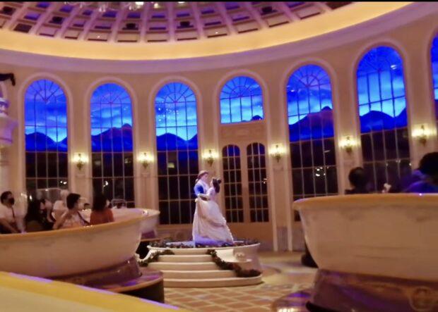 Beauty and the Beast, Tokyo Disneyland, Enchanted Tale of Beauty and the Beast, Ballroom