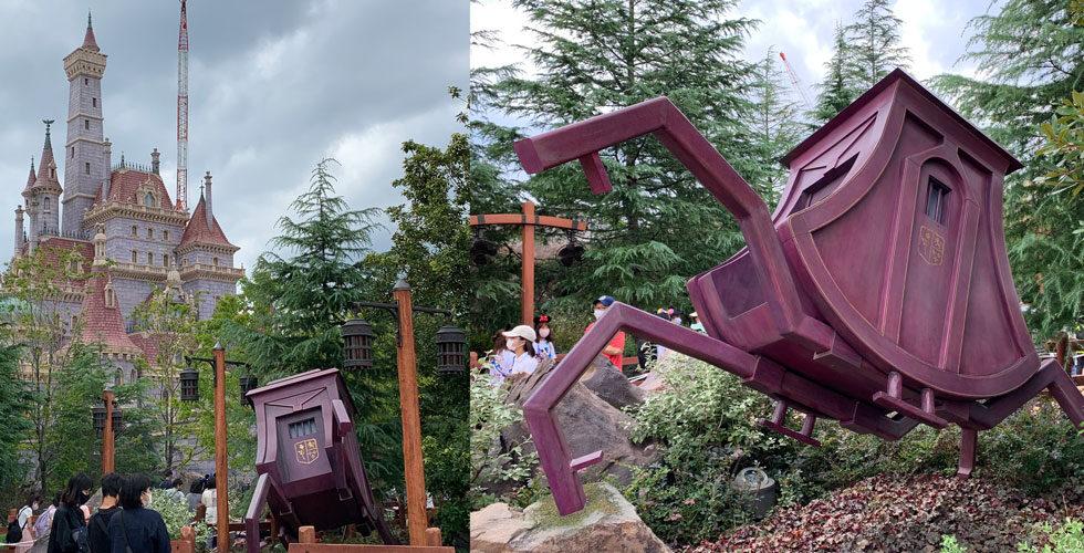 Magical running carriage at Tokyo Disneyland