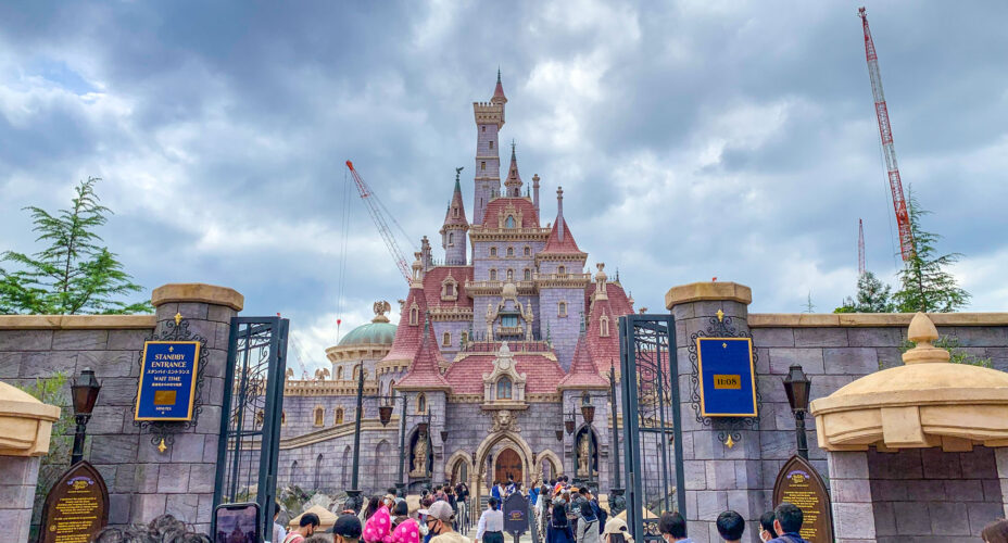 Beast's Castle in 'Beauty and the Beast' Fantasyland Expansion