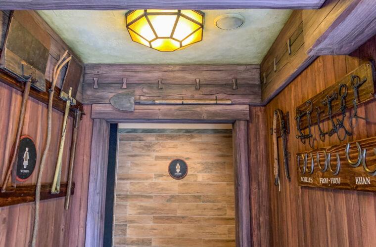 Entrance to Women's bathroom.