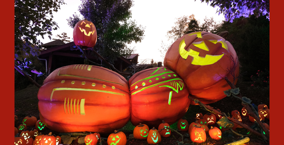 Dollywood's Great Pumpkin LumiNights captured by Wes Ramey at The Dollywood Company.