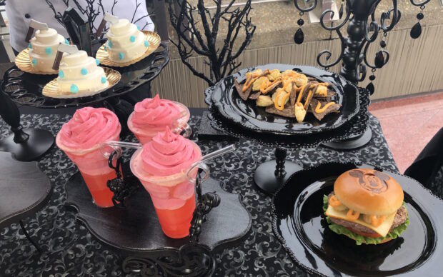 New halloween themed food offerings.