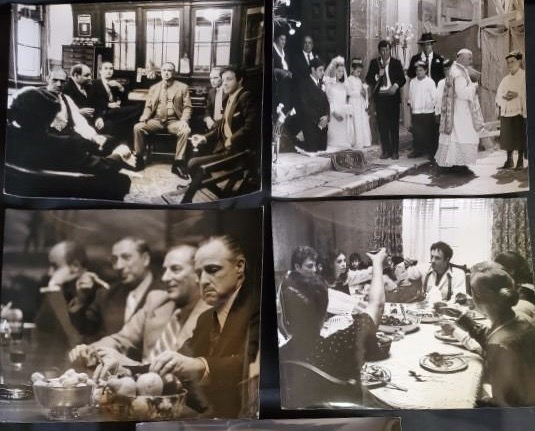 Hollywood Auction, publicity photos, The Godfather