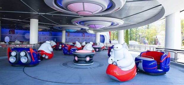 Happy Ride with Baymax, Tokyo Disneyland