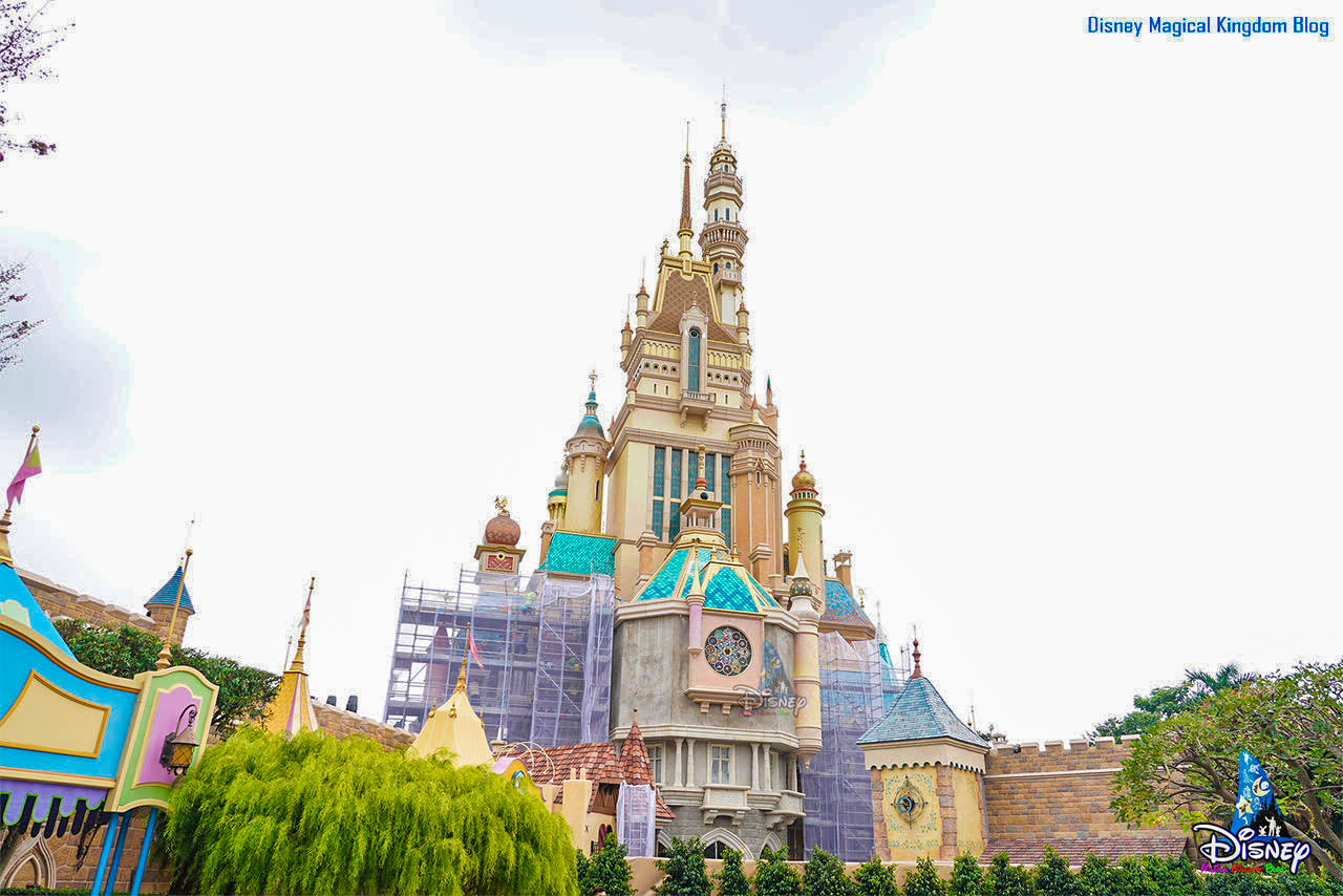 Castle of Magical Dreams at Hong Kong Disneyland