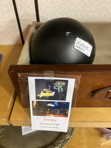 Buzz Lightyear ball from DisneyQuest.