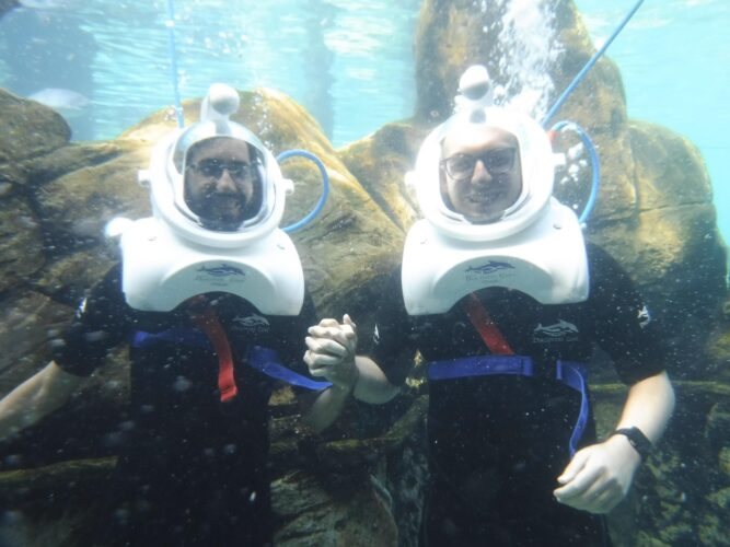 SeaVenture at Discovery Cove.
