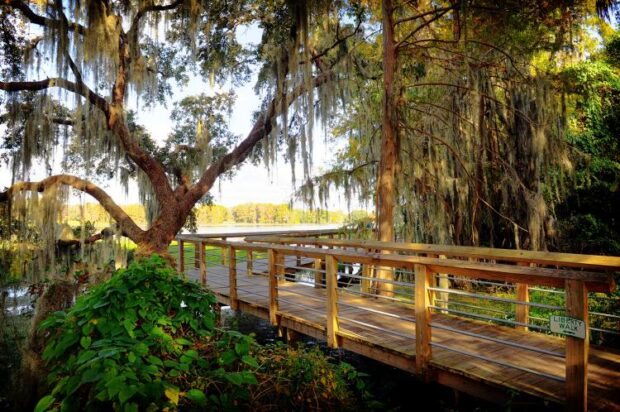 Crystal River, Lakeside Scenic Boardwalk