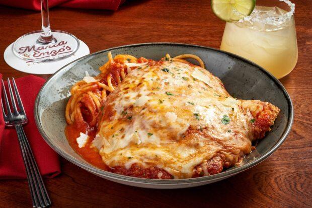 Weekday Dining Offer, Maria & Enzo's pollo alla parmigiana