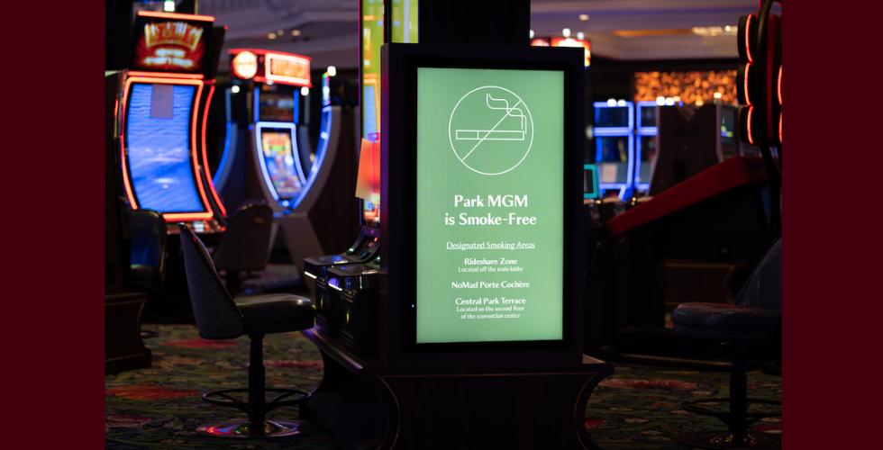 Park mgm to become first smoke free casino on vegas strip Hoyeah blackjack spielen