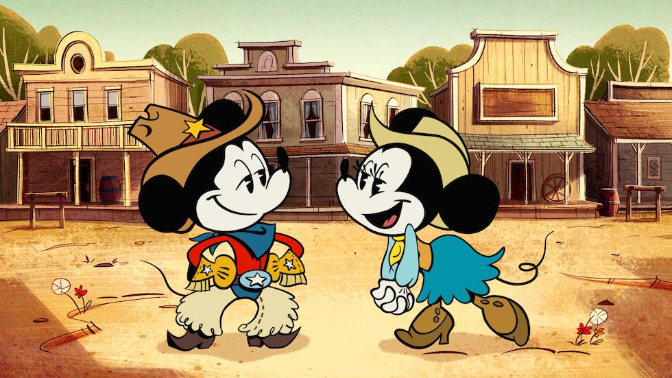 wonderful world of mickey mouse