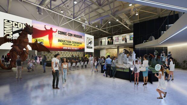 Comic-Con, Comic-Con Museum, Balboa Park, San Diego, Atrium