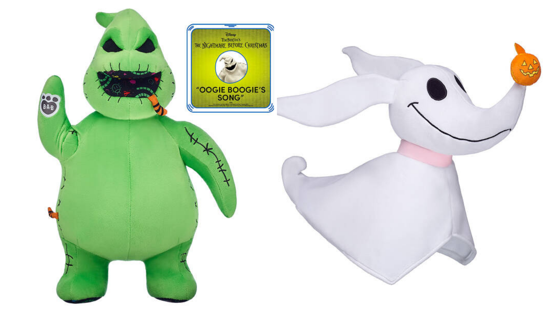 build-a-bear nightmare before christmas