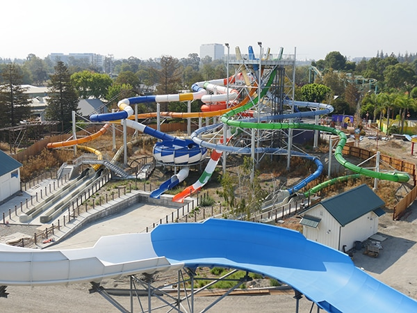 California's Great Adventure, South Bay Shores, Pacific Surge water slides