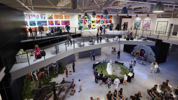 Comic-Con, Comic-Con Museum, Balboa Park, San Diego, The Levels