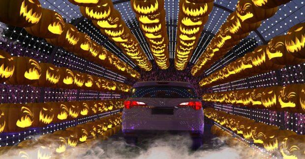 Hauntoween LA, Jack-O'-Lantern tunnel
