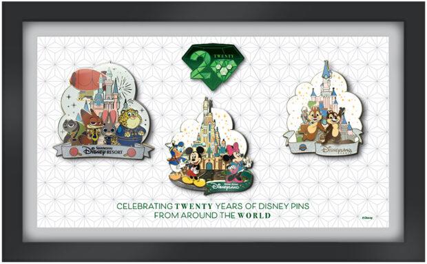 Celebrating Twenty Years of Disney Pins from around the world, virtual pin event