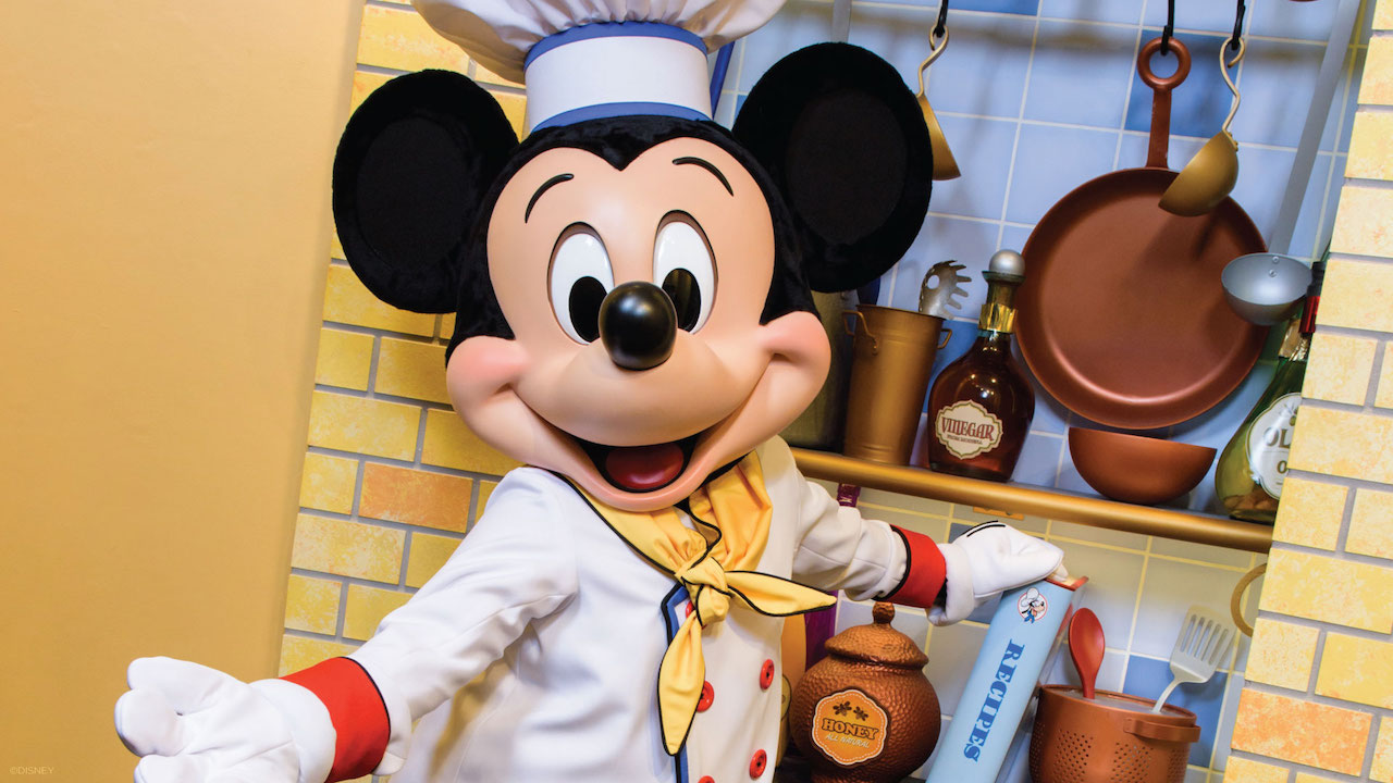 Chef Mickey, character dining