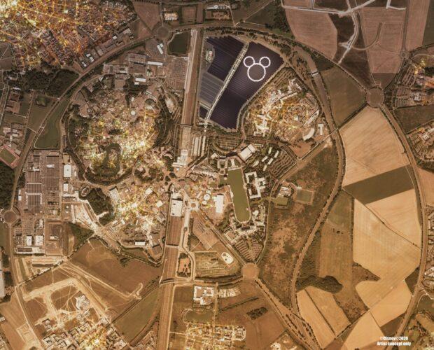 Disneyland Paris, Solar plant