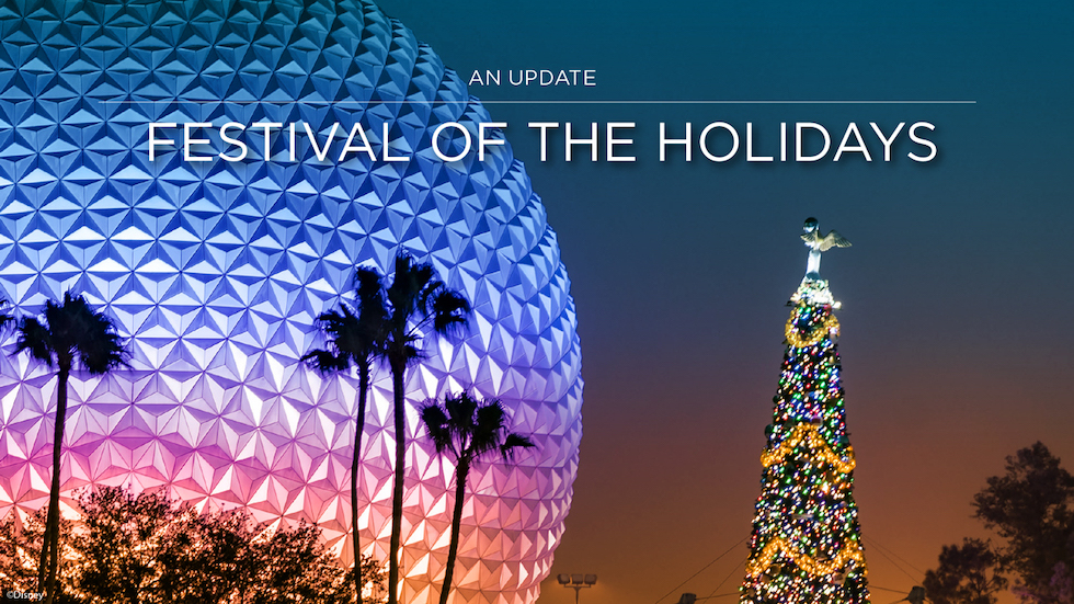 Epcot's Festival of the Holidays