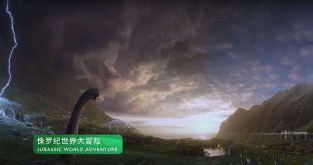 jurassic world adventure