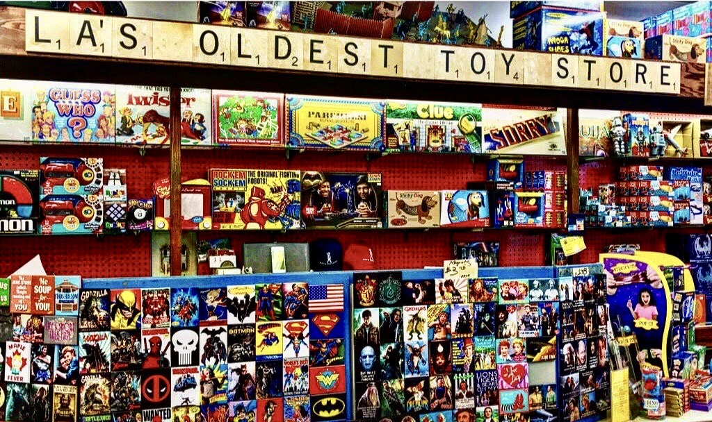 Kip's Toyland, oldest toy store in Los Angeles