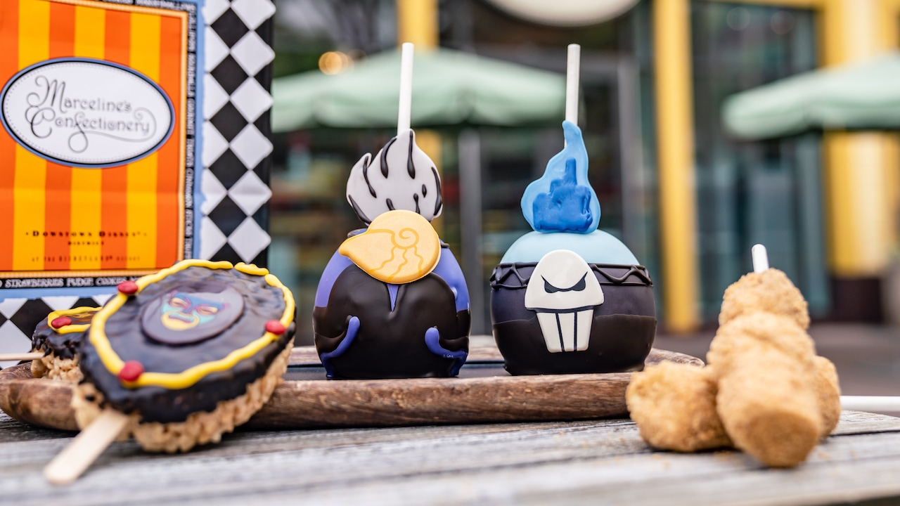 Downtown Disney, Marcelines, Ultimate Foodie Guide, Fall treats