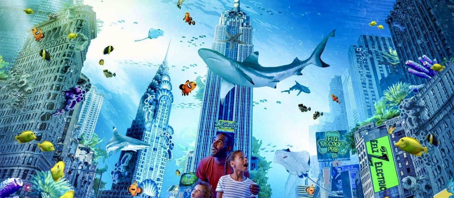 Sea Life Aquarium New Jersey, City Under the Sea, American Dream