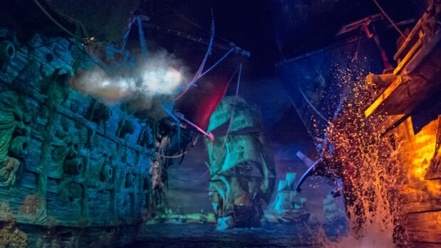 Top 25 theme park attractions in the world, Pirates of the Caribbean Battle for the Sunken Treasure, Shanghai Disneyland