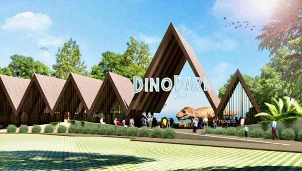 Rincón de la Victoria Dinosaur and Zip Line Theme Park, Dino Park, Jurassic Park-style theme park