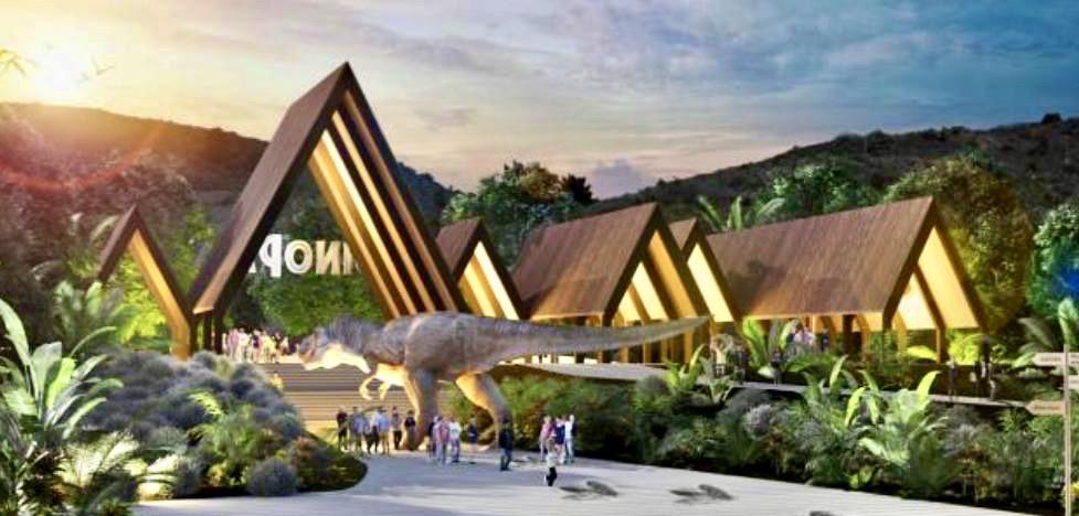 Rincón de la Victoria Dinosaur and Zip Line Theme Park, Jurassic Park theme park